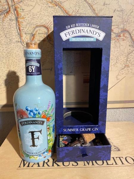 Ferdinand's Summer Grape Gin 6Y Collector's Edit. 44° - 50cl