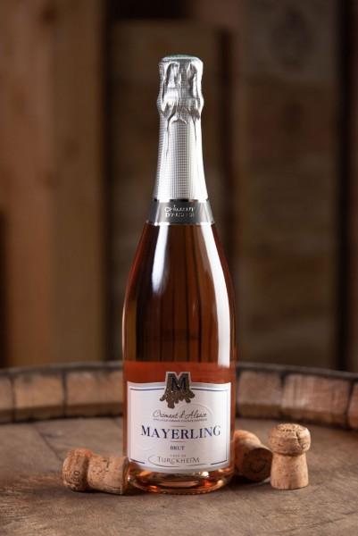 Mayerling brut rosé, méthode champenoise