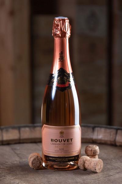 Crémant de Loire Rosé Excellence brut AC Méthode Traditionnelle