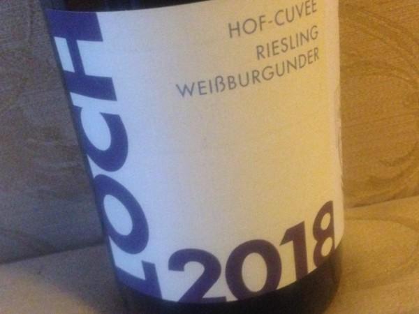 2018 Loch's Hof-Cuvée Riesling+Weißburgunder